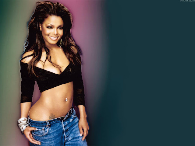 Janet Jackson HD Wallpaper -02