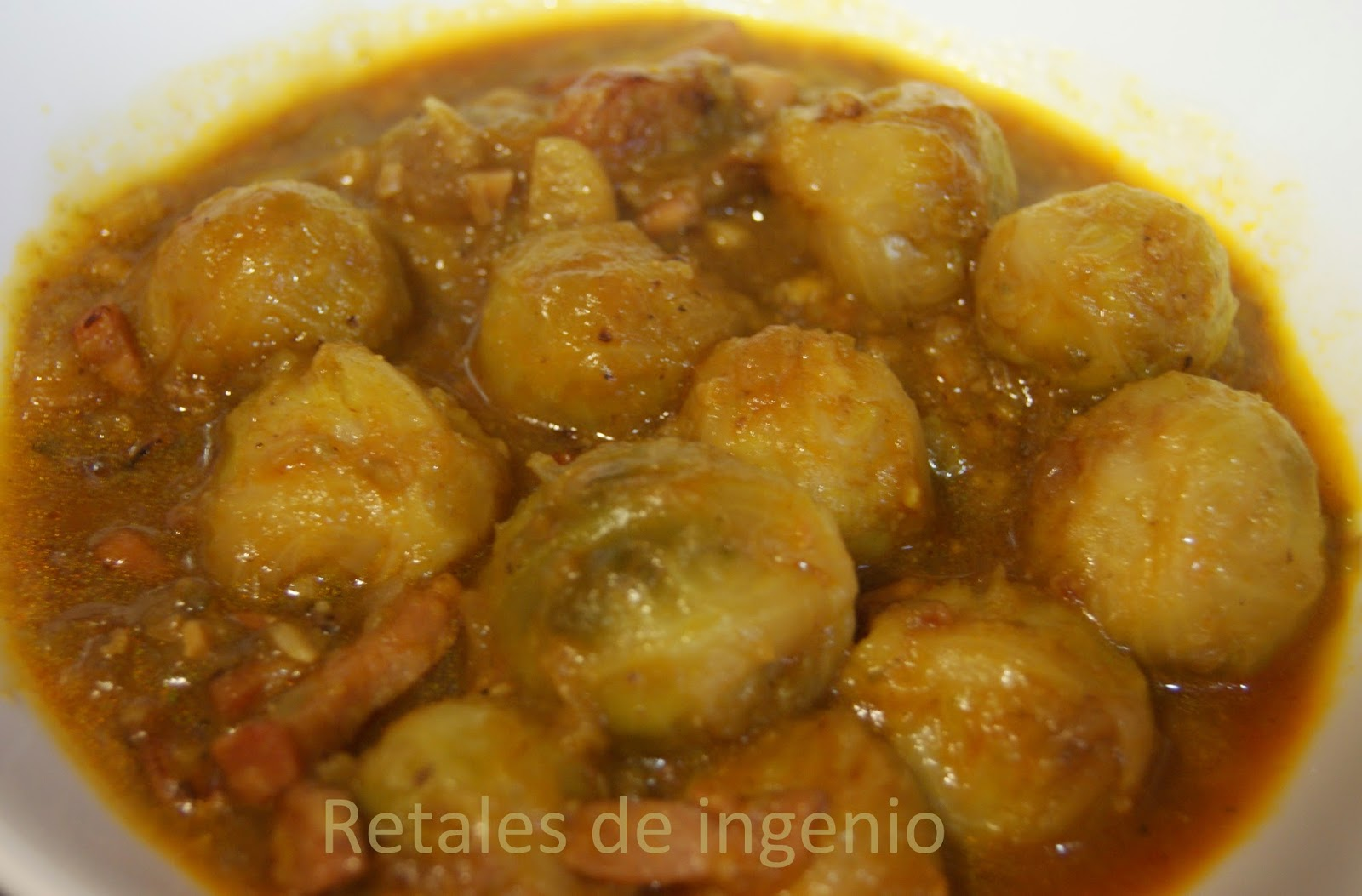 Retales de ingenio recetas y diet tica coles de bruselas - Cocer coles de bruselas ...
