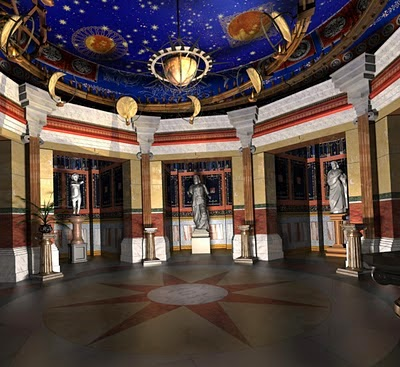Antinous the gay god neros villa with rotating ceiling is now neros villa with rotating ceiling ccuart Choice Image