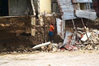 furacão no haiti