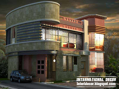 International villa designs with modern ideas 2015