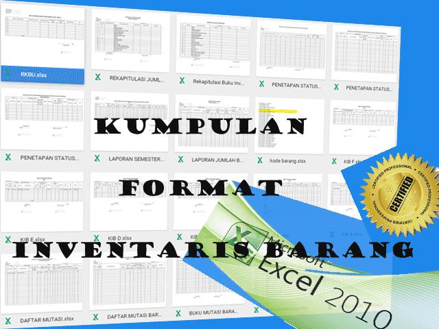 Kumpulan Kode & Format Inventaris Barang Sekolah SD|SMP|SMA 2016