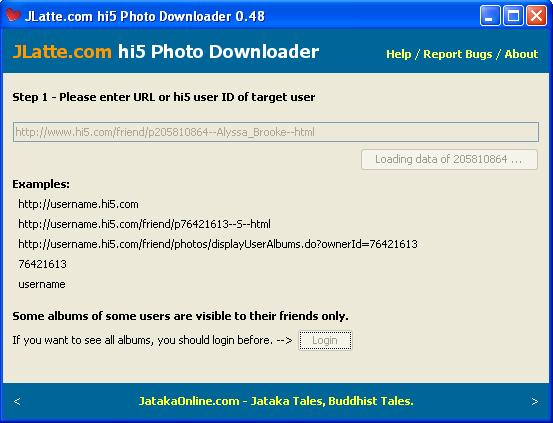 How to download photos from hi5