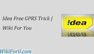 Idea GPRS Trick