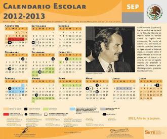 Ciclo Escolar 2012-2013.