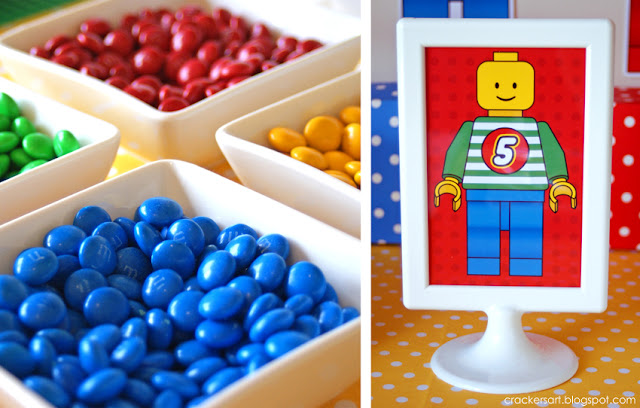 Lego Themed 5th Birthday Party