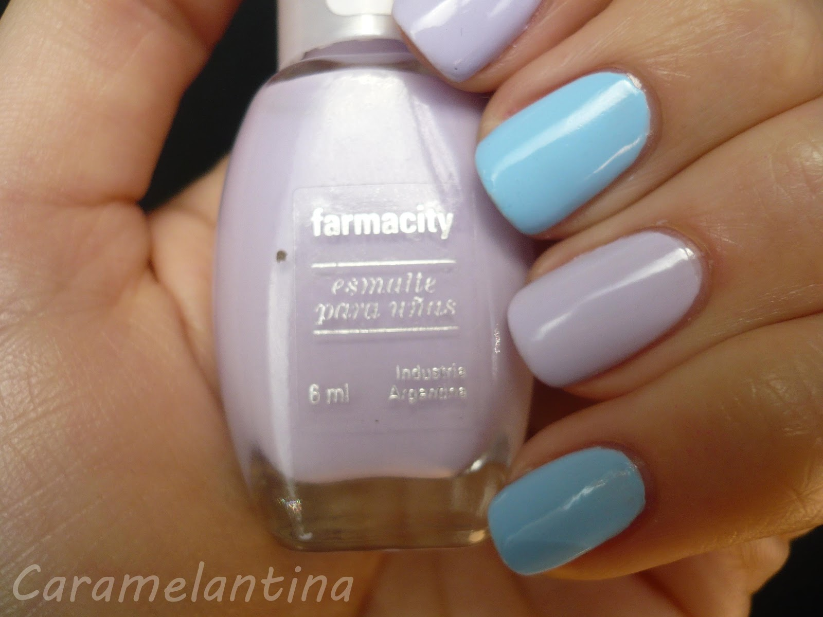 Esmalte Farmacity, Lila Chic, opiniones swatch review