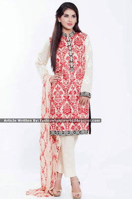 Cross Stitch Embroidered Winter Collection 2015