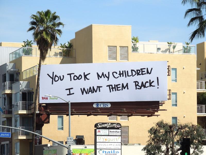 All My Children teaser billboard Sunset Boulevard