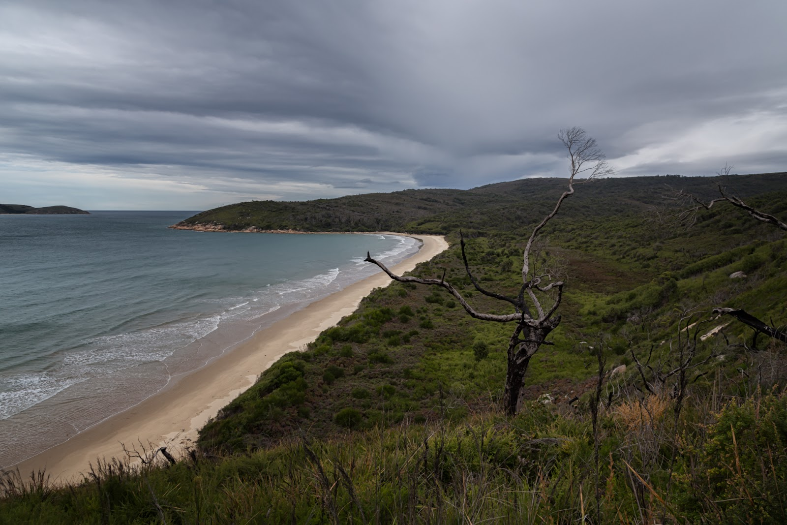 johnny souey cove from three mile point wilsons promontory
