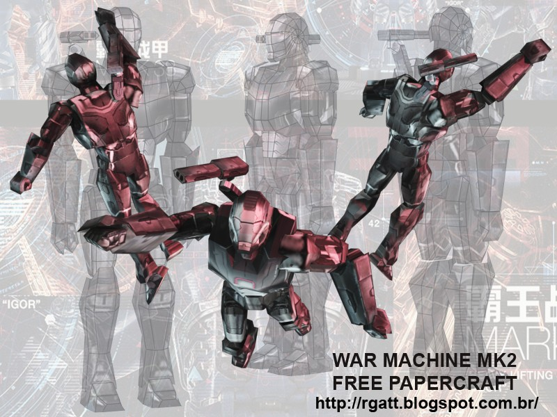 War Machine Mk2 Papercraft