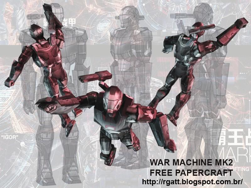 War Machine Mk2 Papercraft