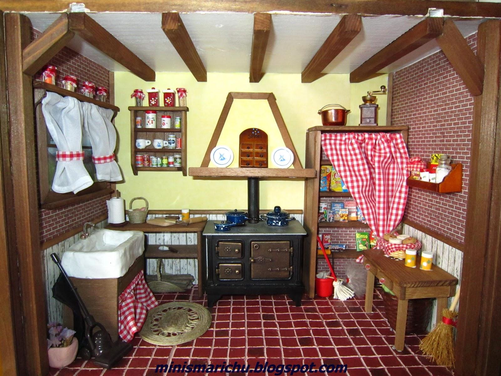 Las minis de marichu cocina rustica for Cocinas originales