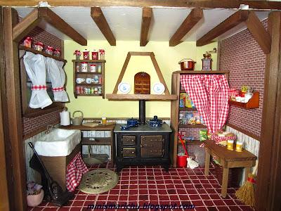 Las minis de marichu cocina rustica - Como disenar una cocina rustica ...