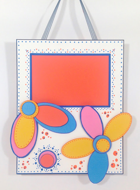 doodle dot photo frame lisa fulmer