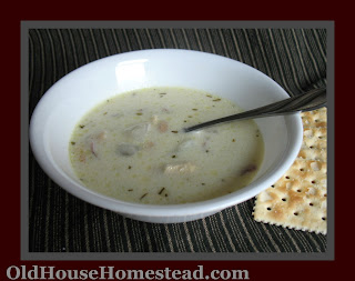 OLD HOUSE HOMESTEAD: Rosemary Chicken Chowder