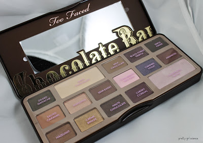 Too Faced Chocolate Bar Palette Review by Nichole C. of Bedlam Beauty