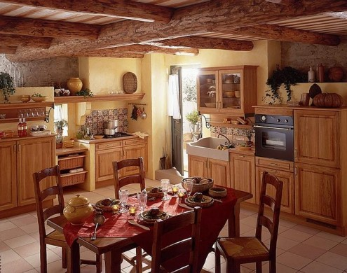 HOME DECOR IDEAS: Italian Kitchen Decor Style Ideas