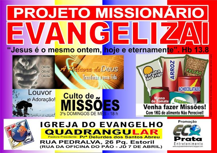 Culto de Missões da IEQ Paciência - RJ