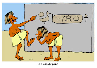 image: ancient Egypt jokes