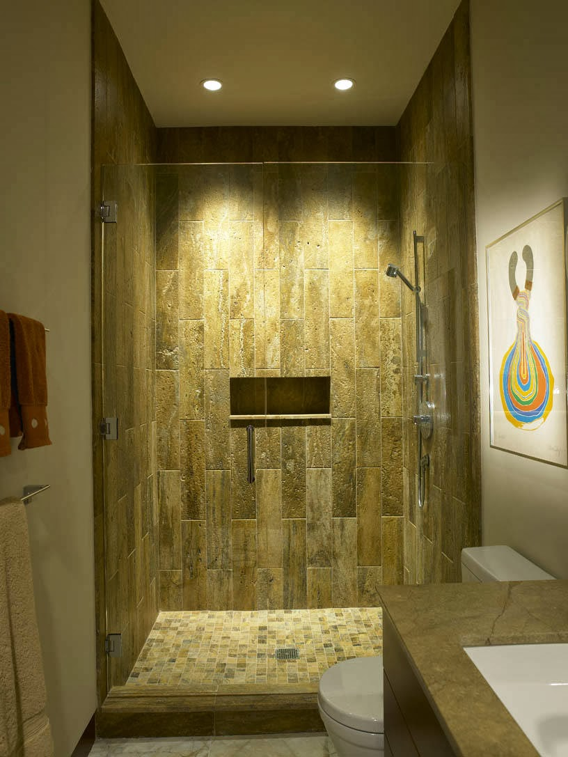 Natural shower recessed Lighting