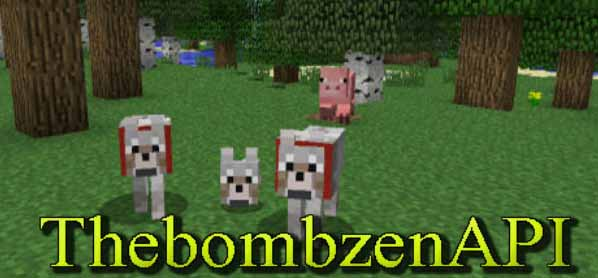 Minecraft The Bombzen API Mod 1.6.4