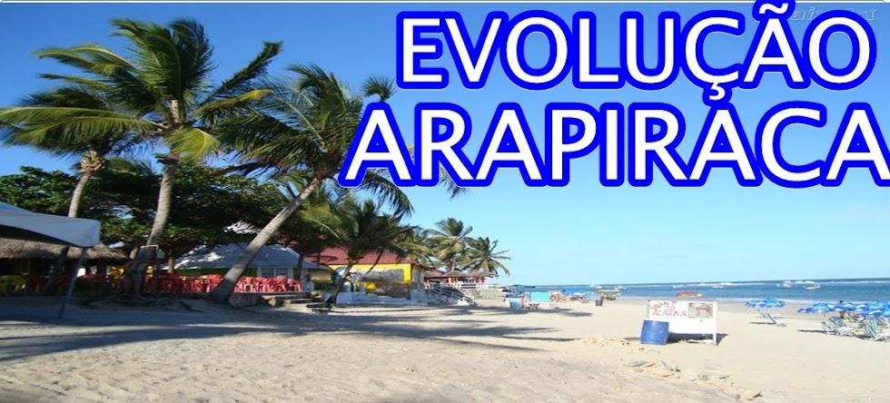 EVOLUÇÃO ARAPIRACA