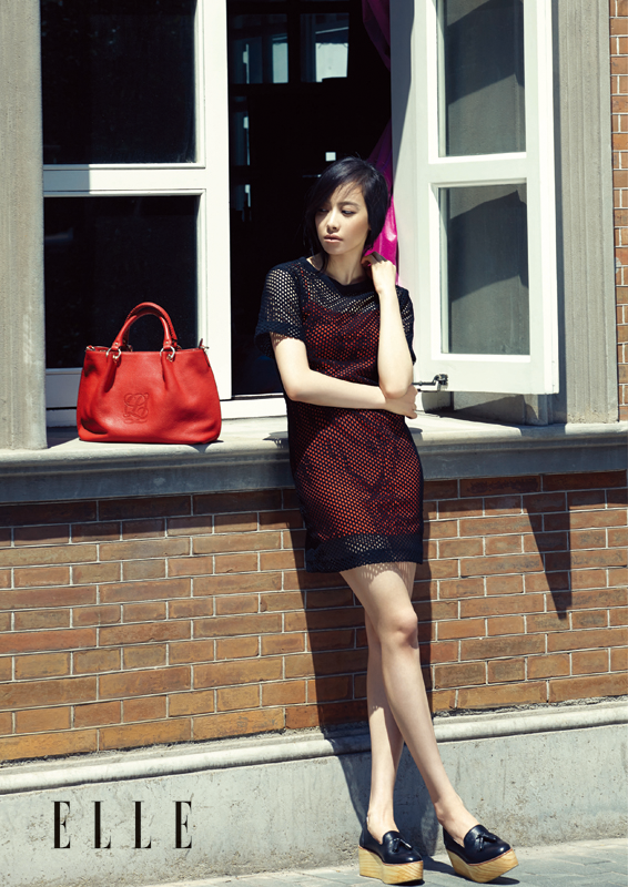 Victoria Song f(x) - Elle June 2014