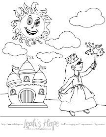 Free Princess Coloring Page Download