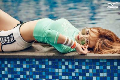 Hani - Mizuno Spring/Summer 2015