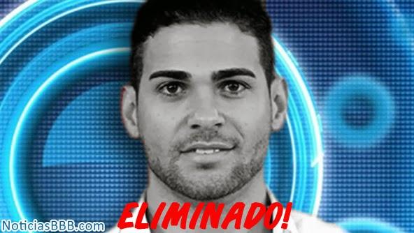 Rodrigo é eliminada do BBB 14 - Porcentagem de votos
