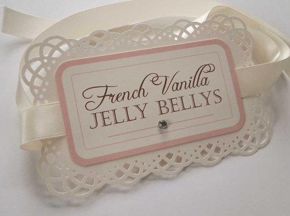 Beautiful Bridal: Custom Candy Buffet Labels