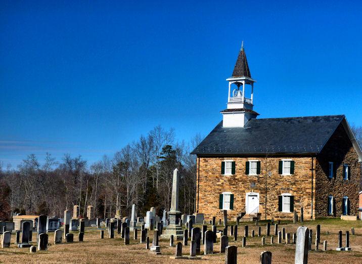 A Good Snapshot    Lower Stone Church Rowan County North