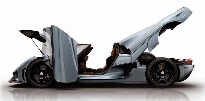 Koenigsegg Regera, 1500 HP Car