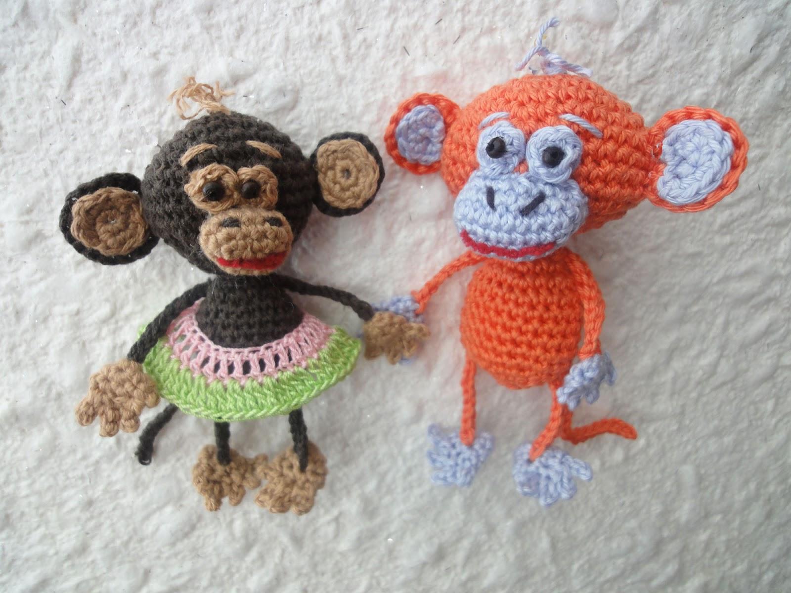 Свое вязание крючком обезьянки 394