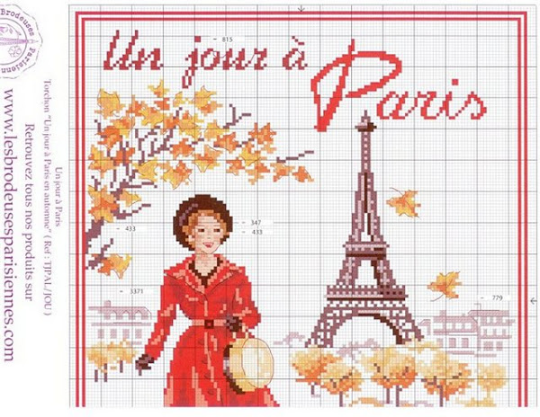 """(""""Один осенний день в Париже"""")"""