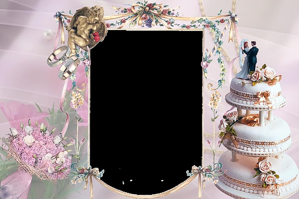Рамка для фото торт