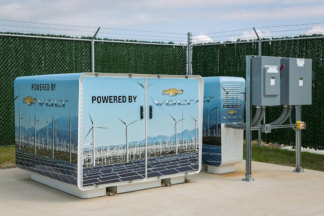 Chevrolet Uses Five Recycled Chevy Volt Batteries To Power One Of Their Data Centers