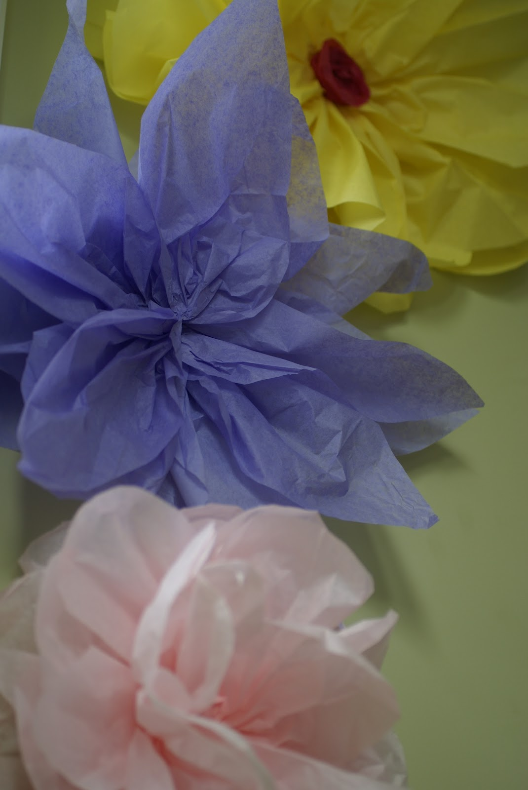 Eyeful Of Lovely Diy Tissue Paper Flower Tutorial