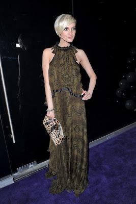 Ashlee Simpson Wentz Print Dress