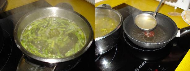Sopa de espárragos 2