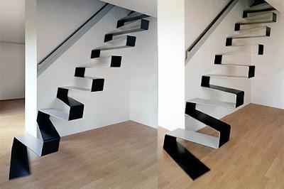 increibles diseños y modelos de escaleras
