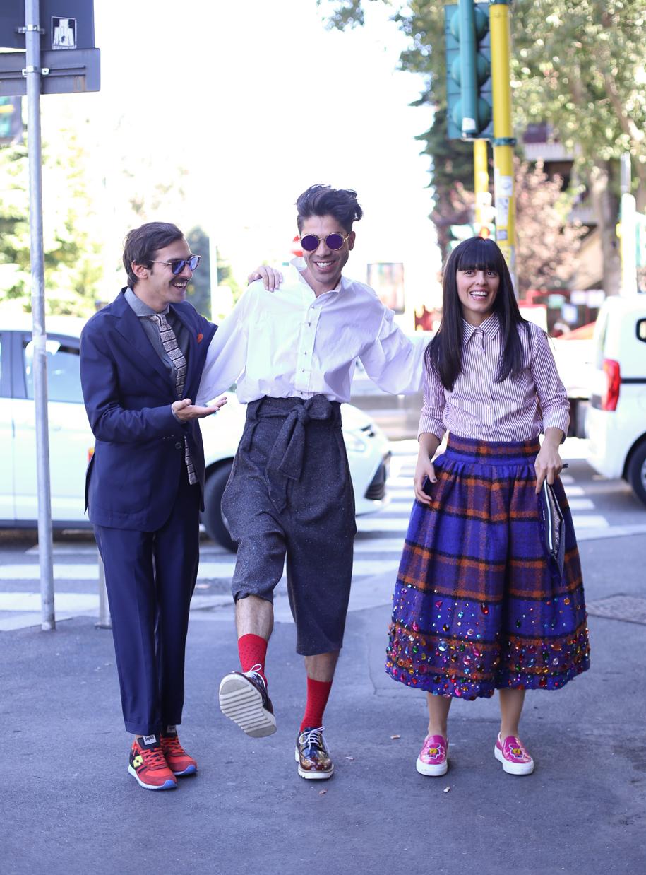 milan fashion week, street