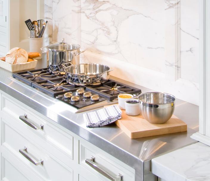 In Good Taste: White Kitchen Design