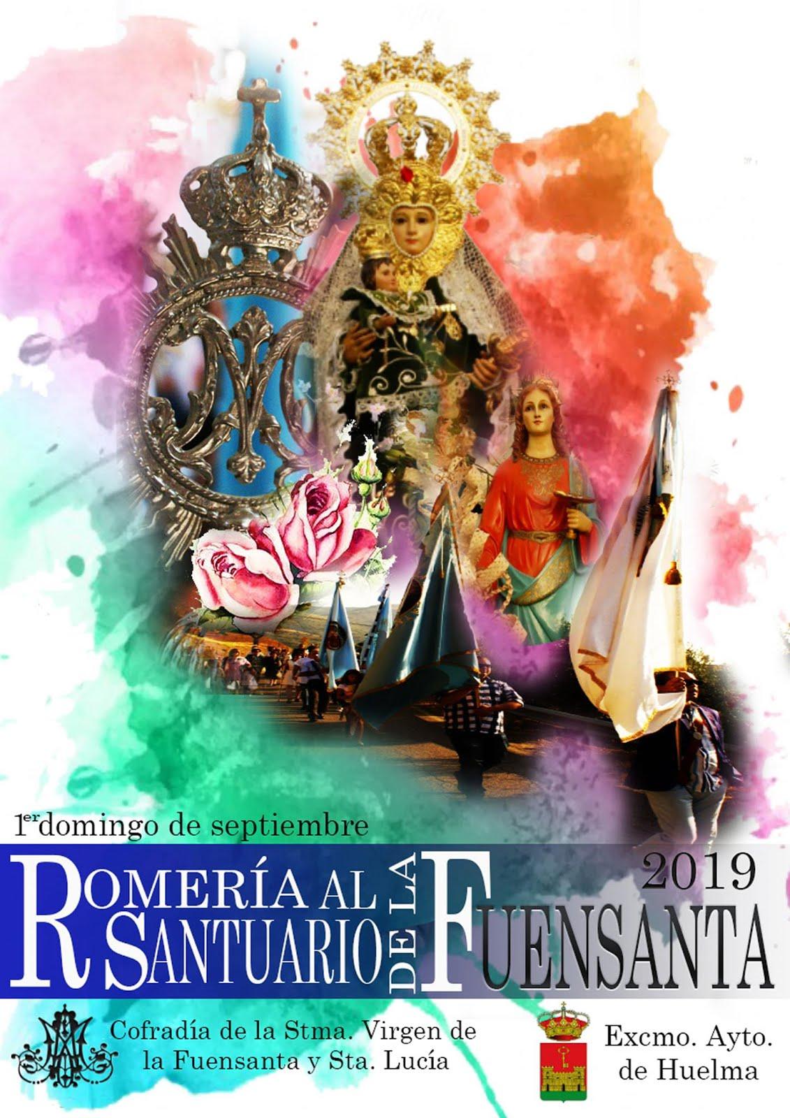 ROMERÍA AL SANTUARIO DE LA FUENSANTA. 1º DOMINGO DE SEPTIEMBRE 2019