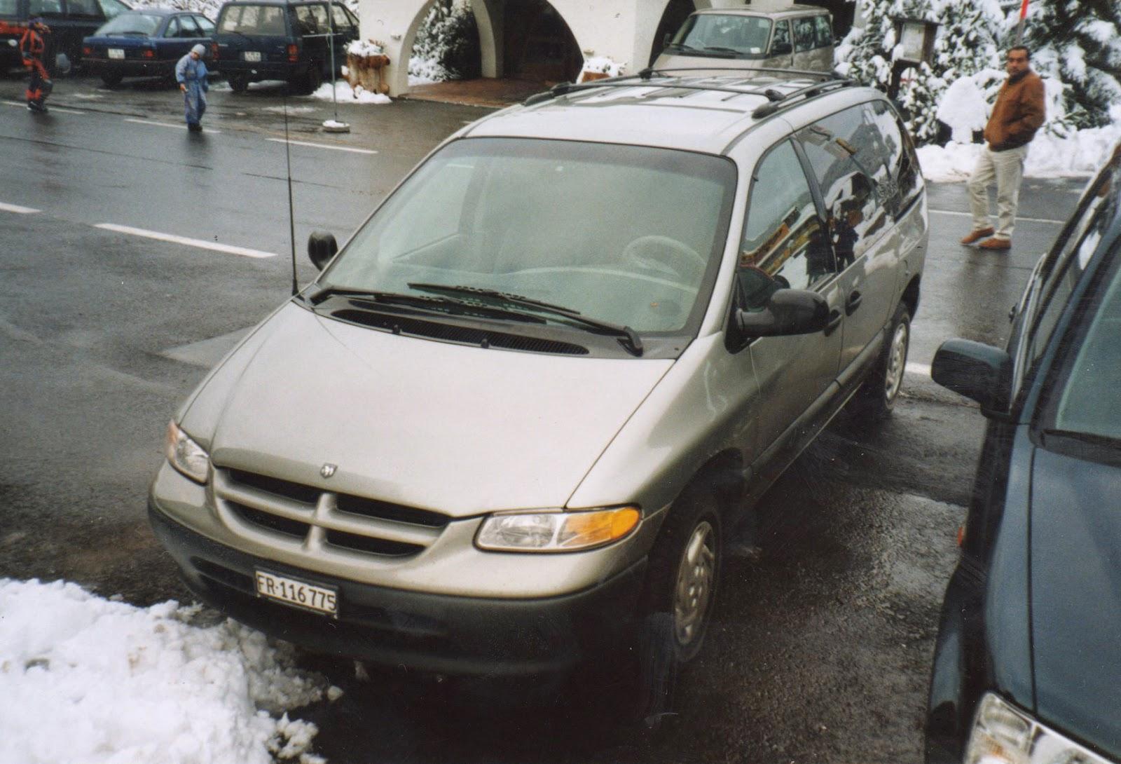 Spotacar 1996 1998 dodge caravan front switzerland