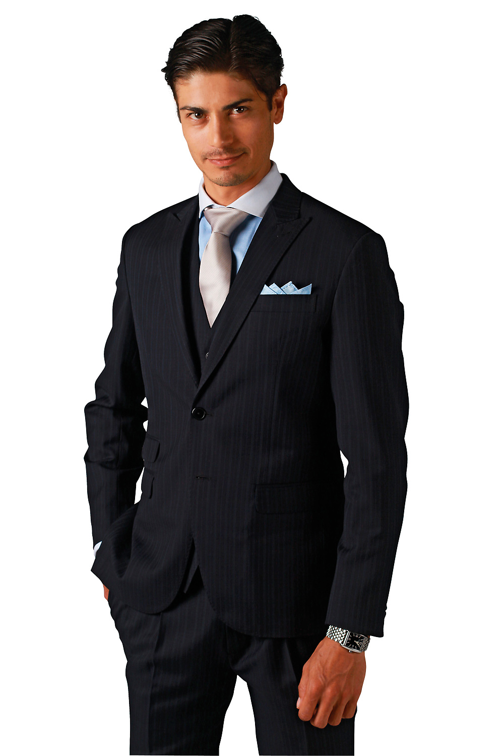 Tailored mens suits, shirts and jackets for all occasions. Customise your fabric and style with guaranteed fit! Enquire now @ Montagio Sydney & Brisbane.