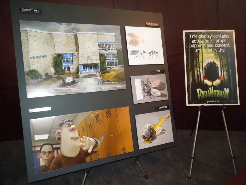 ParaNorman movie concept art designs