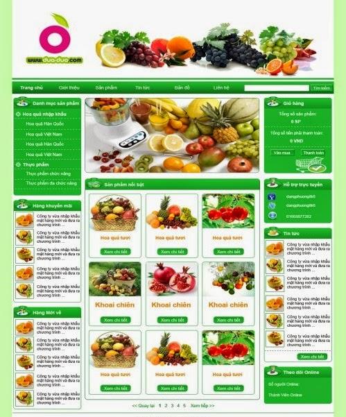 thiết kế website bán hàng hoa tươi giá rẻ