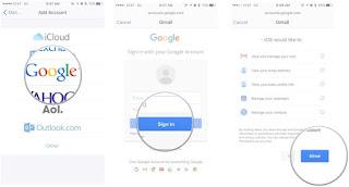 كيفية  ضبط  اعدادات  تطبيقات جوجل على الايفون والايباد